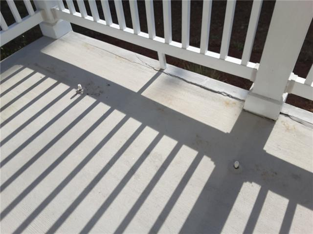 Concrete Porch in Guyton, GA is Quickly Repaired with PolyLevel