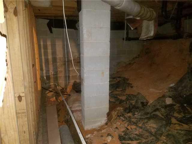 Half Basement, Half Crawl Space Moisture Problem