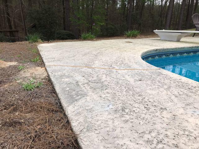 Pool Deck Repair in Tarrytown, GA