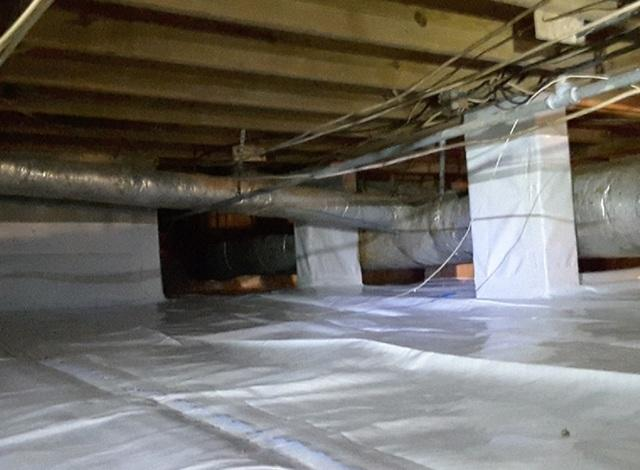 Complete CrawlSpace Encapsulation in North Charleston, SC Protects Home
