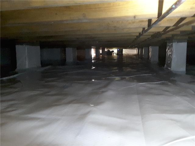 Messy Crawlspace Repair in Guyton, GA