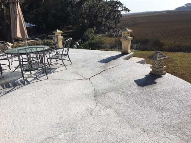Sinking Slab Fixed in Darien, GA