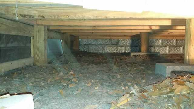 Home in Waverly, GA in Need of Supplemental Foundation Support