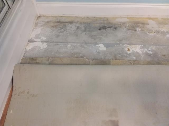 NexusPro Fills Bathroom Slab Crack in Statesboro, GA