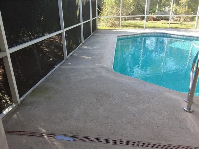 Sinking Pool Deck Fixed with PolyLevel in Bluffton, SC