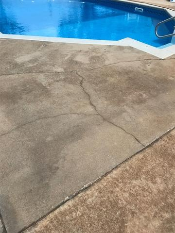 Sinking Pool Deck in Hawkinsville, GA