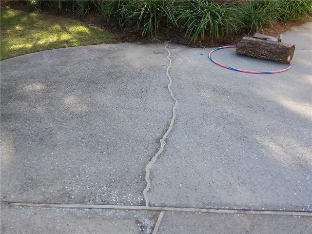 Cracked Pool Deck Fixed with NexusPro in Seabrook, SC