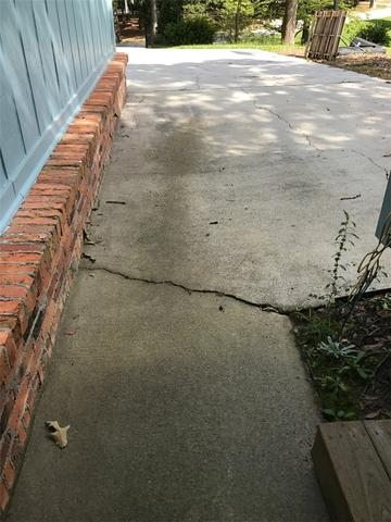 Cracked and Sunk Concrete Fixed with PolyLevel and NexusPro