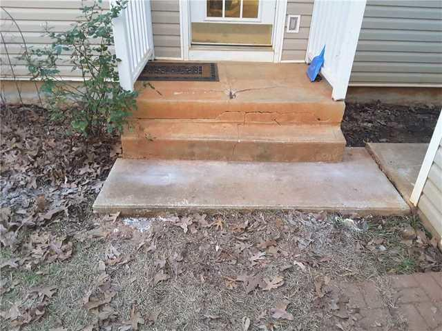 Sparta, GA Home Experiencing Foundation Settlement