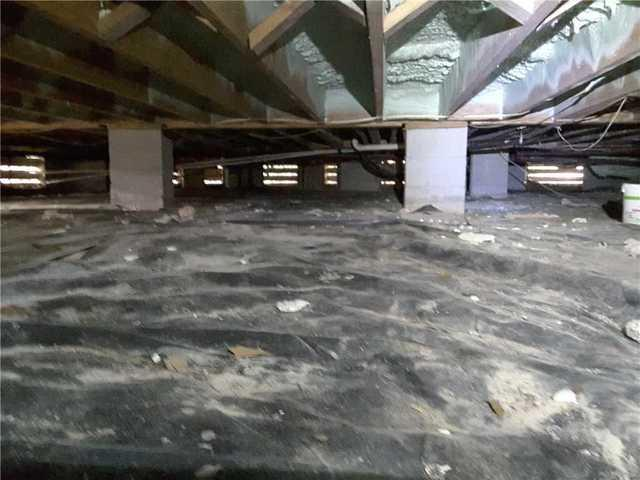 CleanSpace Install Keeps Crawl Space Dry in Okatie, SC