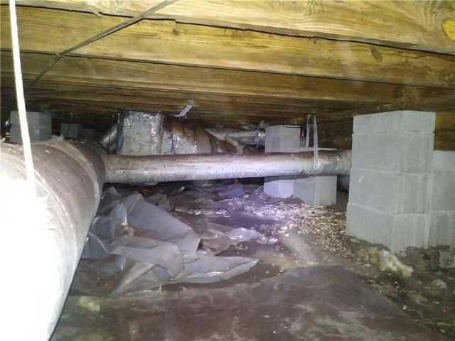 Crawl Space Encapsulation in Mount Pleasant, SC