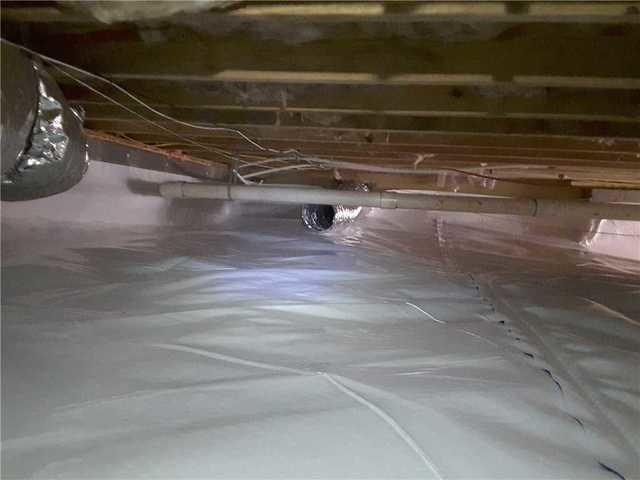 CleanSpace Replaces Old Vapor Barrier in Macon, GA
