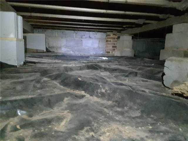 Crawl Space Encapsulation in Jeffersonville, GA