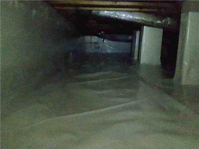 Damp Crawl Space in Vidalia, GA
