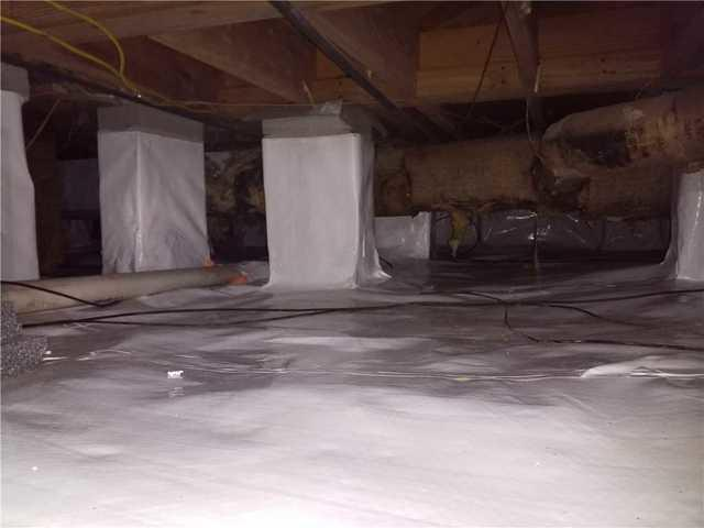 Hurricane Water Floods Savannah, GA Crawl Space