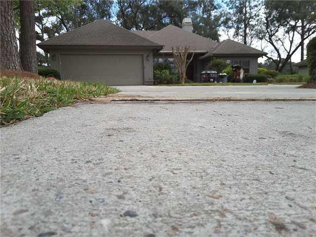 Sinking Walkway Fixed with PolyLevel in Hilton Head, SC