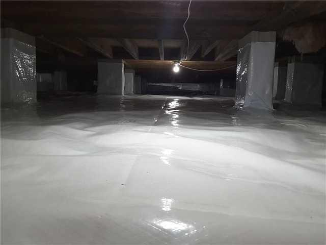 Moncks Corners Crawl Space Gets Clean Space!