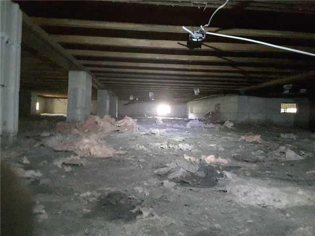 Moncks Corners Crawl Space Gets Clean Space! - Before Photo