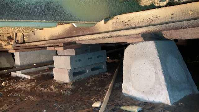 Sagging Foundation in Brooklet, GA Crawl Space
