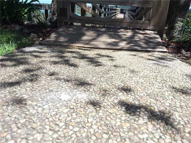 Walkway is Leveled with PolyLevel in Hilton Head Island, SC