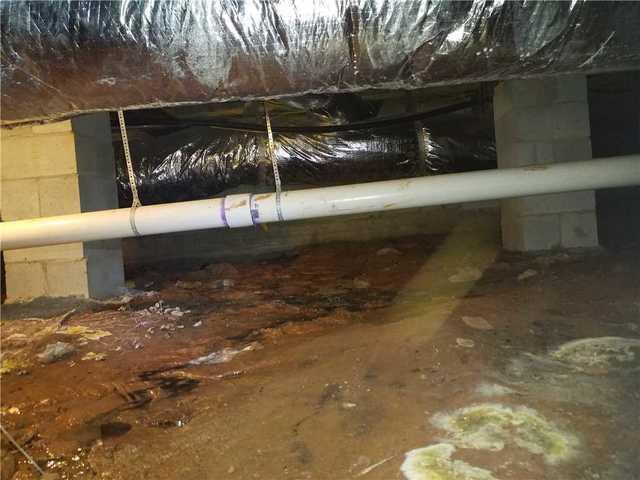 Damp, Humid Crawl Space Fixed in Eatonton, GA
