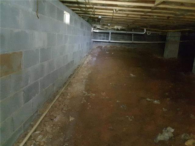 Wet Crawl Space Sealed and Protected in Gray, GA
