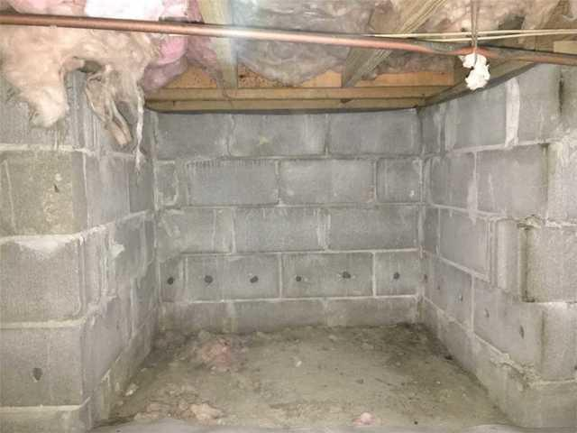 Crawl Space Sealed and Protected from Moisture and Pests in Savannah, GA