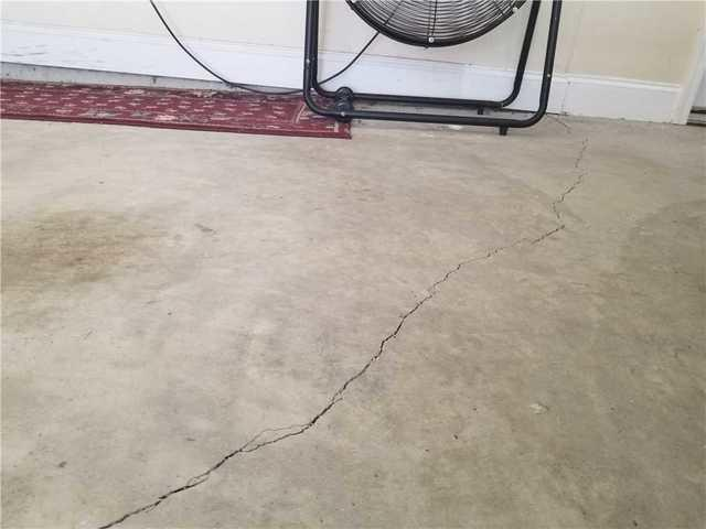 Garage Floor Leveled and Protected in Warner Robins, GA