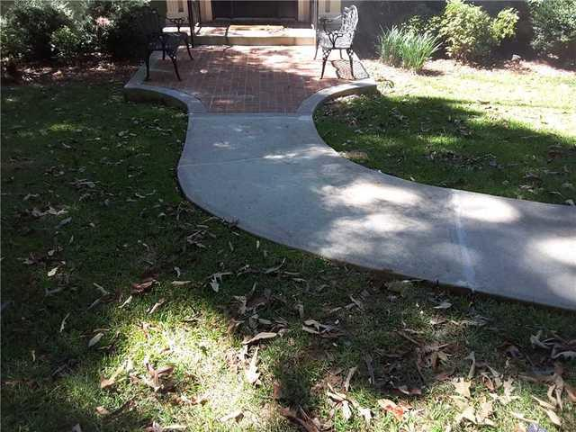 Sinking Concrete Walkway in Forsyth, GA is Fixed!