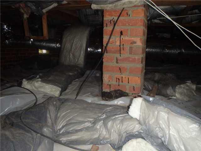 Electric Bill Lowered with Encapsulated Crawl Space in Savannah, GA