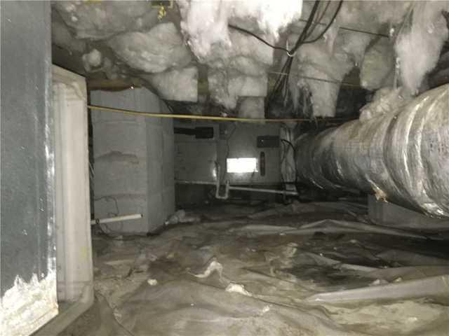Wet, Humid Crawl Space Encapsulated in Brooklet, GA