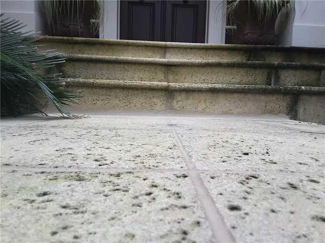 Sinking Concrete no Problem After PolyLevel in Hilton Head Island, SC