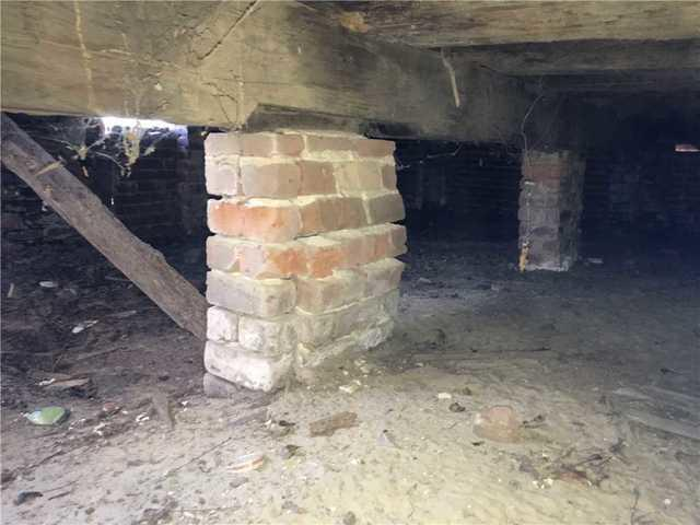 Old Home in Portal, GA Has Foundation Fixed by Lowcountry Basement Systems