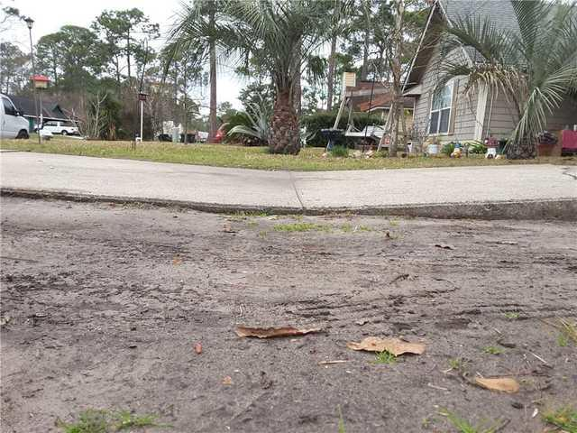 Sinking Driveway Fixed in Hinesville, GA