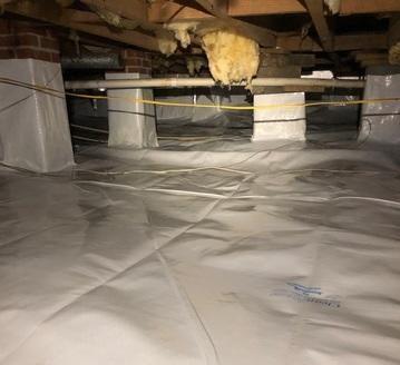 Crawlspace Moisture Issue Fixed in Columbus, GA