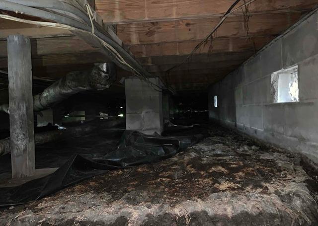 Crawl Space Repair in Brunswick, GA