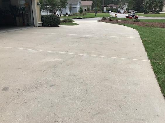 Driveway Repaired in Blufton, SC