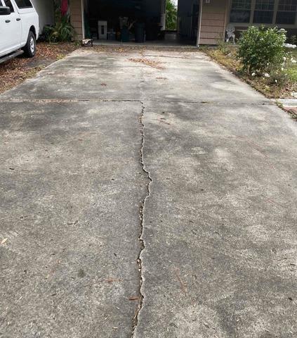 Concrete Driveway Repair in Brunswick, GA