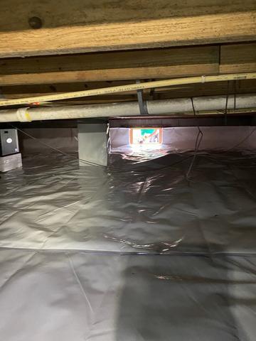 Crawlspace Encapsulation in Dexter, GA