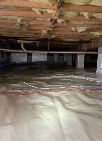 Encapsulated Crawlspace in Okatie, SC