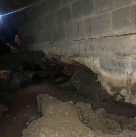 Sinking Foundation Lifted in Warner Robins, GA