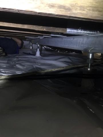 Charleston, SC Home Floor Stabilized