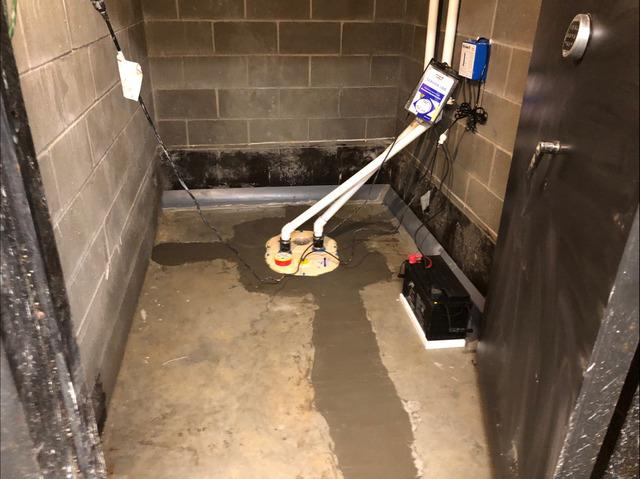 Waterproofing System Installed in Glennville, GA