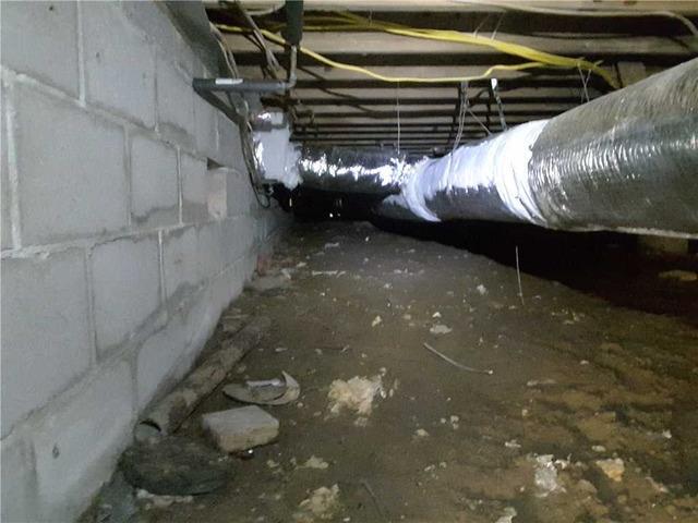 Crawlspace Transformation in Savannah, GA