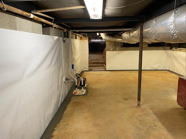 Waterproofing a Basement in Milledgeville, GA