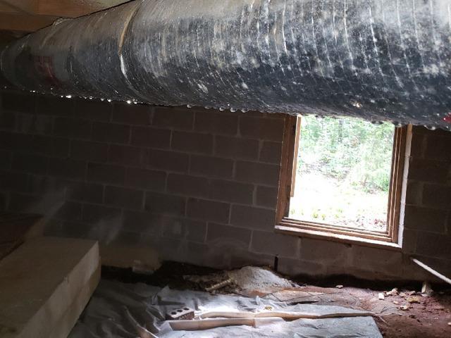 Encapsulated Crawlspace in Lagrange, GA