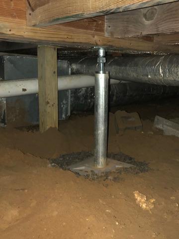 Crawlspace Support in Statesboro, GA