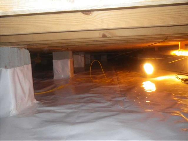 Crawlspace Moisture Issues Resolved in Macon, GA