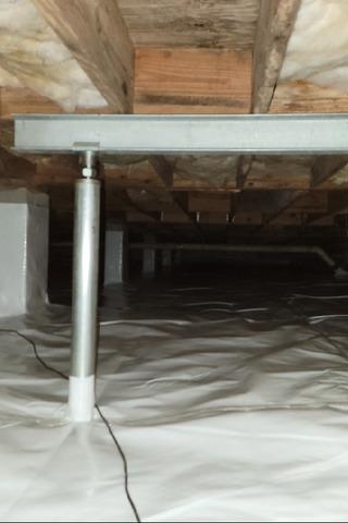 Moisture Controlled and Floor Supported in Saint Simons Island, GA