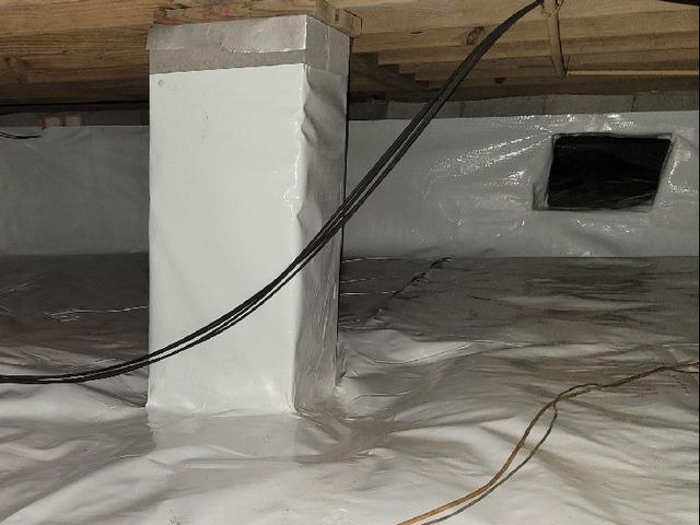 Crawlspace Encapsulation in Register, GA